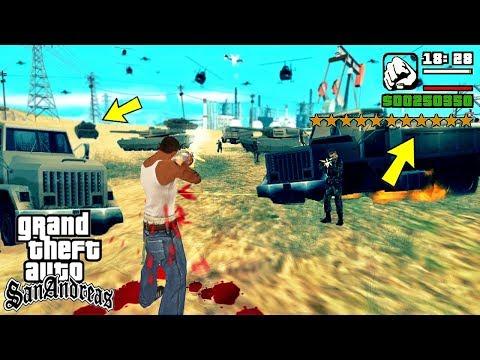 Что будет, если получить 11 звезд в GTA San Andreas?