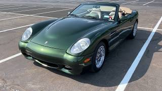Panoz Esperante Walk Around with Top Down