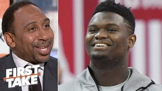 Zion will have the best career of any NBA rookie - Stephen A. |  First Take