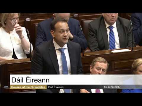 In Full: Leo Varadkar's first speech as Taoiseach elect