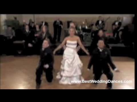 Shocking Surprise Wedding Dance  Funk Soul Brother