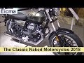 The Classic Naked Motorcycles 2018 (short video)