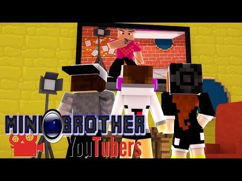 Minecraft: A CASA ESTÁ DIVIDIDA - MINI BROTHER YOUTUBERS Ep.2