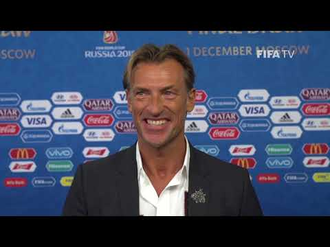 Herve RENARD – Morocco - Final Draw Reaction