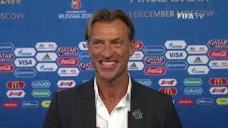 Herve RENARD – Morocco - Final Draw Reaction