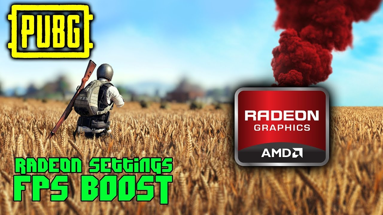 AMD Radeon Settings for FPS Boost PUBG Rx480/580