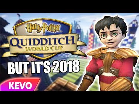 Harry Potter: Quidditch World Cup but it's 2018