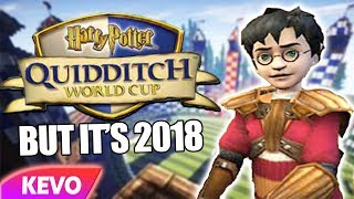 Harry Potter: Quidditch World Cup but it