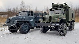 Сравнительный Тест-Драйв Уралов ... Ural Mz Yy2004 Vs Wpl B36