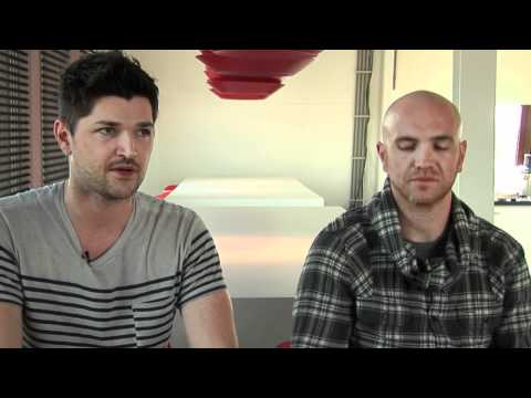 The Script interview - Danny O'Donoghue, Glen Power and Mark Sheehan (deel 1)