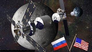 Russland & USA  bauen gemeinsame Mondstation!