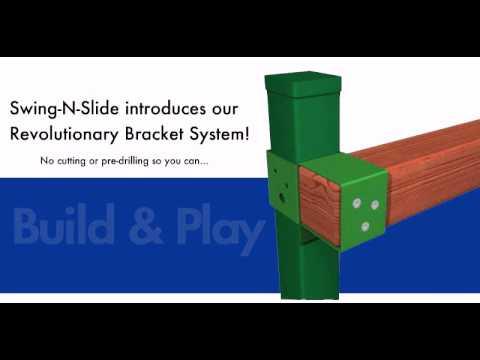 The Swing-N-Slide Revolutionary Bracket System