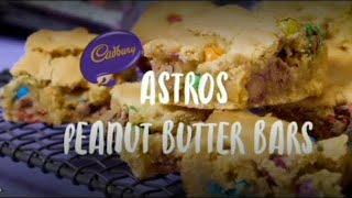 Astro Peanut Butter Bars// Cadbury recipe//