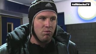 James Parsons All Blacks Debut V Scotland - Edinburgh-