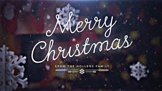 Peter Hollens - December Song (Lyric Video)