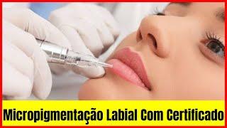 Micropigmentação Labial Famosas - Curso De Micropigmentação Labial
