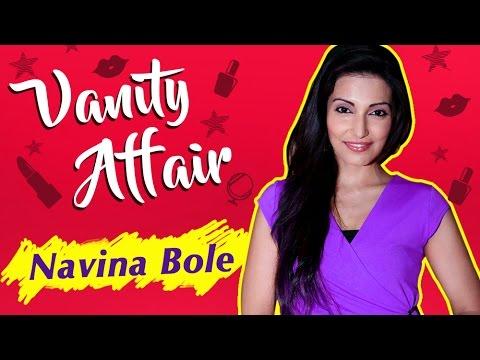 Navina Bole aka Tia REVEALS Her Make-Up Room Secrets | VANITY AFFAIR | Exclusive Interview