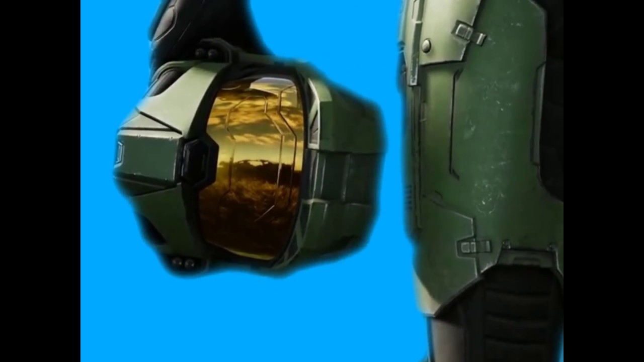 Halo Infinite Masterchief Bluescreen
