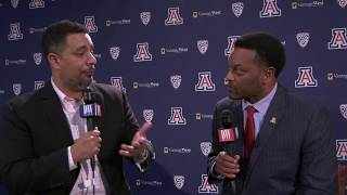 New Arizona football head coach Kevin Sumlin sits down with the Daily Wildcat, Part 1.