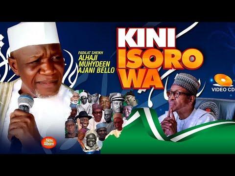 Download Kini Isoro Wa (What's Nigeria Problem) Video | 2020 Latest Bomblast from Sheikh Muyideen Ajani Bello