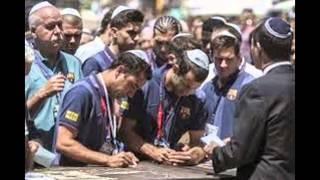 FC Barcelona support Israel