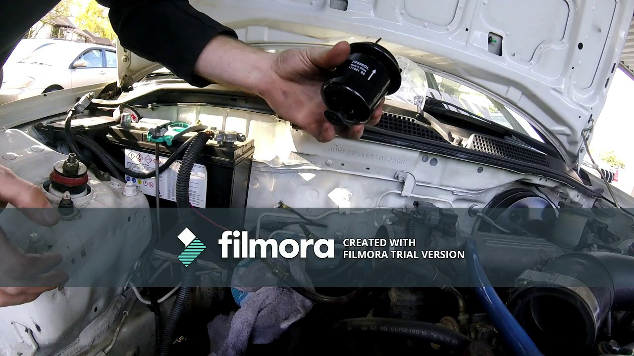 92 95 honda civic fuel filter replacement [ 1280 x 720 Pixel ]