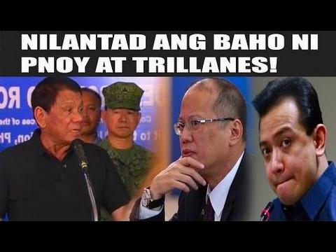 PRES. DUTERTE NILANTAD ANG BAHO NI PNOY, TRILLANES AT NG MGA TAGA MEDIA! - Philippines News