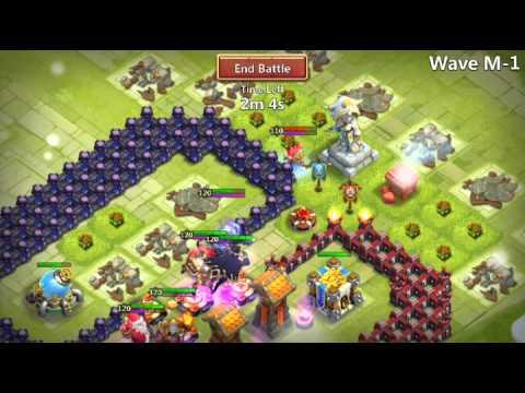Castle Clash HBM_M5 NO NEED P.D & DRUID. .all Lvl120