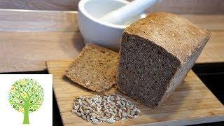 🍀 Хлеб со злаками цельнозерновой - рецепт на закваске 🍀