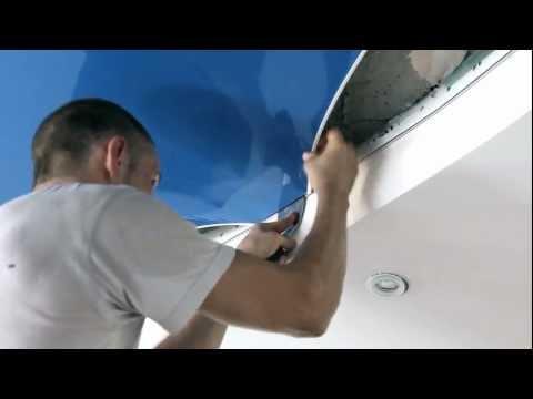 видео: Монтаж натяжного потолка от