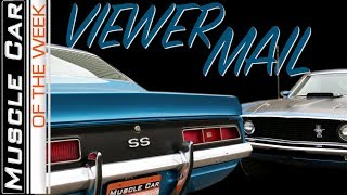 Your Letters - Muscle Car Of The Week Episode 291