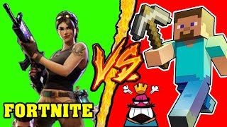 Fortnite VS Minecraft - Battaglia Rap Epica Freestyle - Manuel Aski