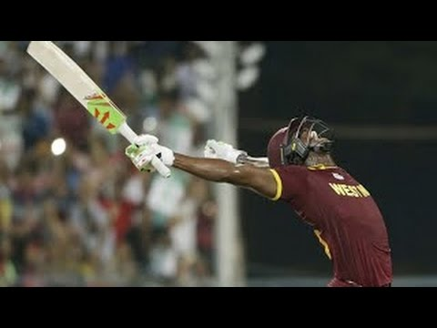 Carlos Brathwaite four sixes in the final over in ICC world T20 final