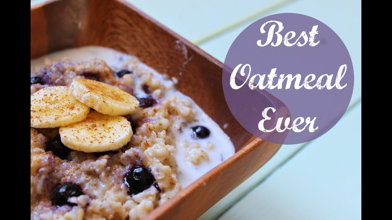 how to cook oatmeal for breakfast