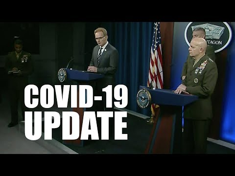Top Marine Corps Officials Brief Media