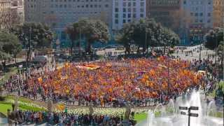 FLASHMOB - INDEPENDENCE OF CATALONIA - BEST EVER (OFFICIAL)