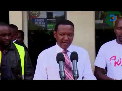 ''Stop Using Funerals for political gain'', Mutua tells leaders