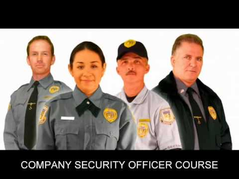 Company security officer course cso course youtube - Security officer training online ...
