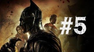 Injustice Gods Among Us Gameplay Walkthrough Part 5 - Green Arrow - Chapter 5