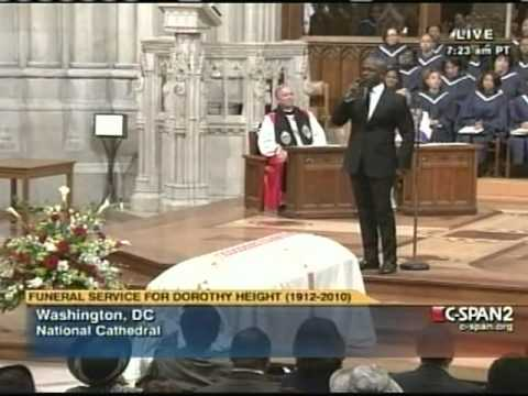 STAND - BEBE WINANS SALUTES DR. DOROTHY HEIGHT