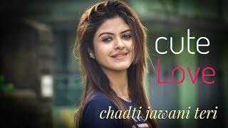 Chadti Jawani Teri Cute Love Story Brightvision  Tik Tok viral song 2019