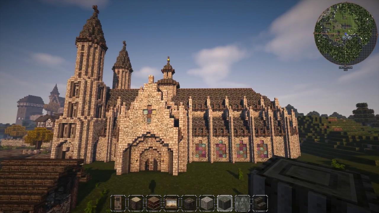 Kirche Minecraft