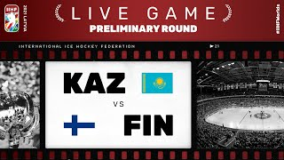 Kazakhstan – Finland | Live | Group B | 2021 IIHF Ice Hockey World Championship
