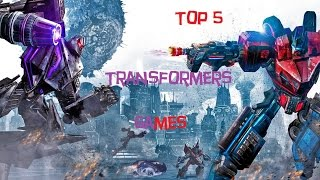 Top 5 Transformers Video Games