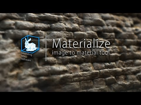 Materialize -- An AMAZING Free Texture Map Generating Tool