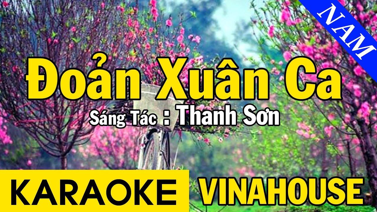 Karaoke Đoản Xuân Ca Tone Nam Nhạc Sống Vinahouse - Beat Chuẩn