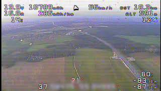 26/52km Quadcopter FPV Flight (Полет на квадрокоптере на 26 км и обратно)
