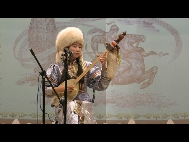Тасха Матыр. Хакасское богатырское сказание. Сказывает Тюльбер Пюгечи на хакасском языке.