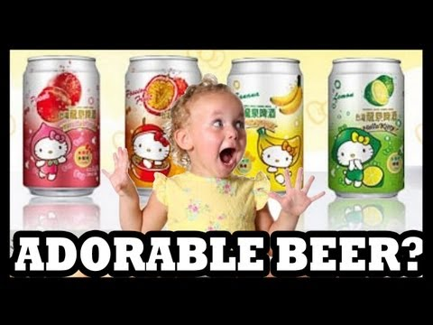 Hello Kitty & Spreadable Beers!? - Food Feeder