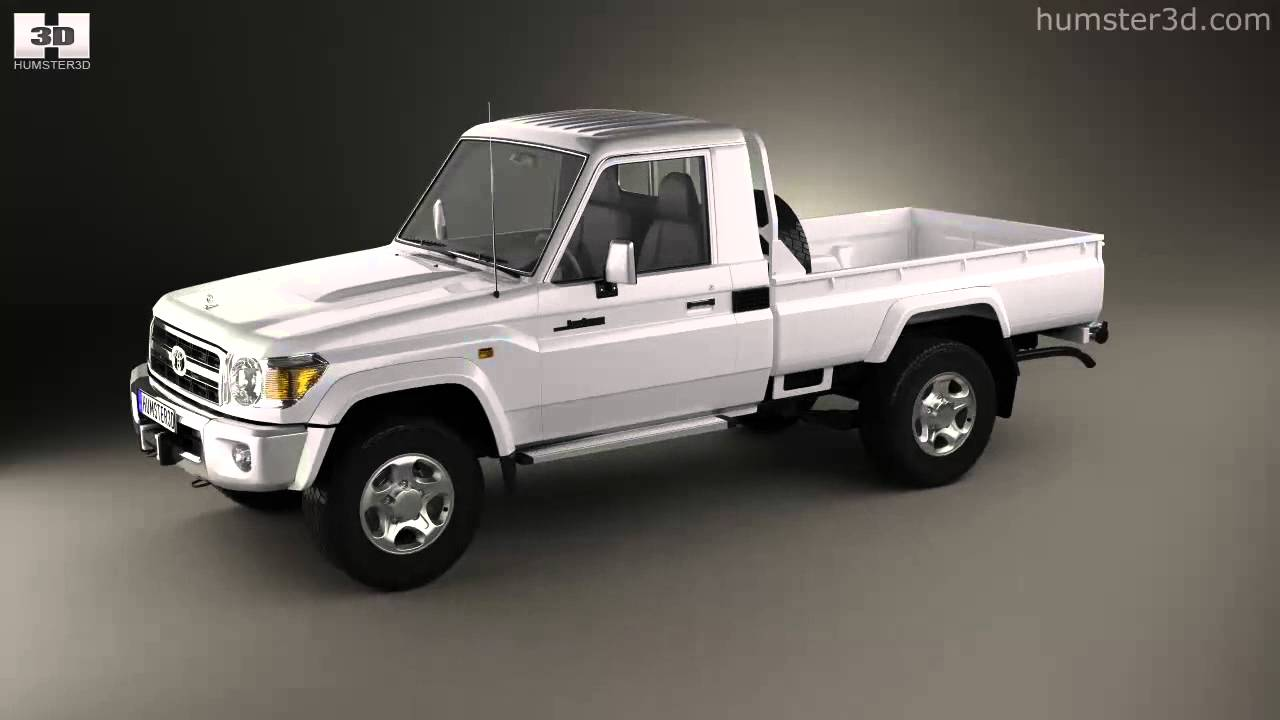 Toyota Land Cruiser (J79) Single Cab 2007 by 3D model ...